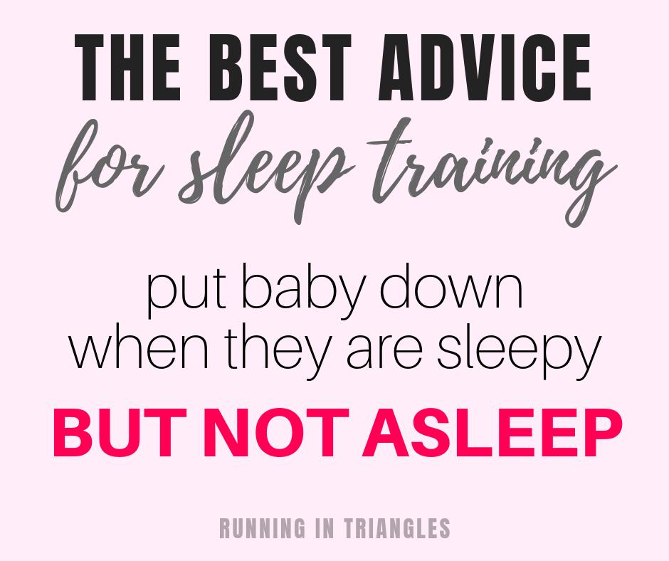 The best advice for sleep training
