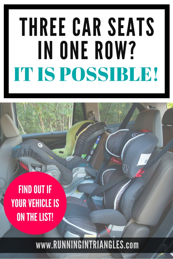 Best Vehicles for Three Car Seats
